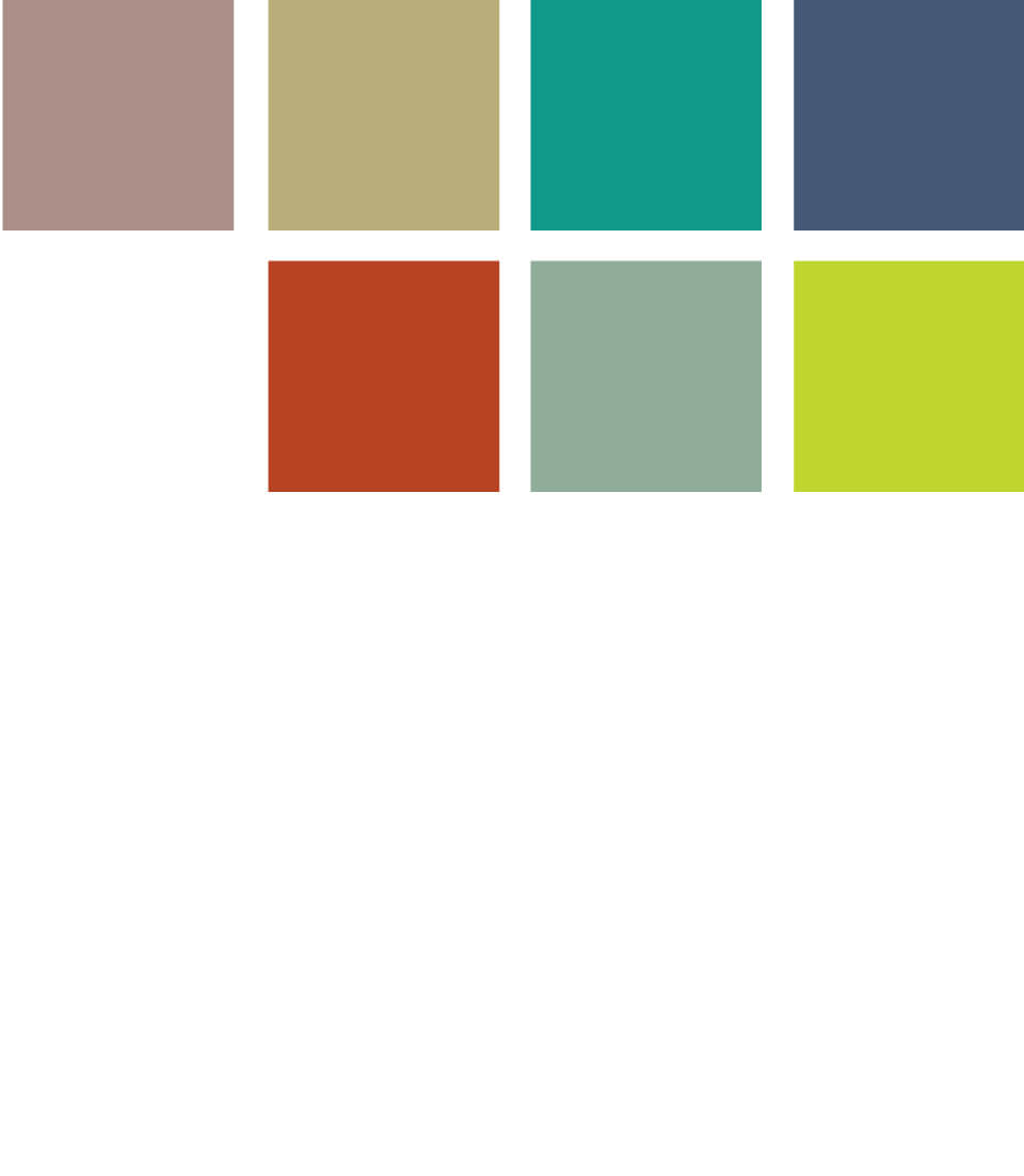 Furniture color swatches